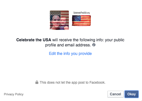 42db6e7e5095 Change facebook profile to American flag - Celebrate the USA
